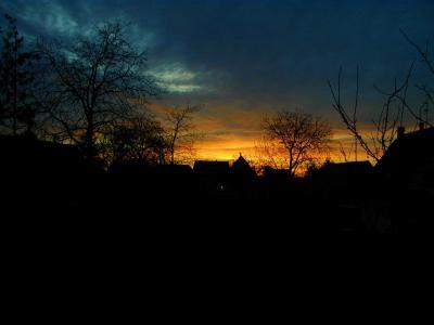 Soleil en Alsace du nord