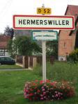 Village fleuri en Alsace, gîte le maenele